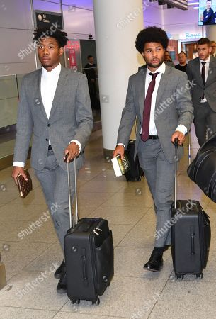 Editorial picture of FC Bayern at Munich International Airport, Germany - 23 Oct 2019