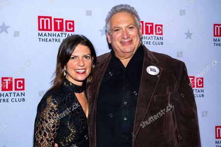 Stock Image of Kimberly Senior and Harvey Fierstein