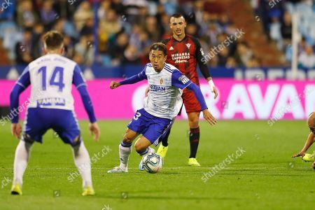 Shinji Kagawa of Real Zaragoza