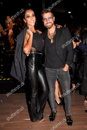 Editorial picture of Elisabetta Franchi show, Front Row, Spring Summer 2020, Milan Fashion Week, Italy - 20 Sep 2019