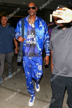 Editorial photo of Snoop Dogg out and about, Los Angeles, USA - 22 Oct 2019