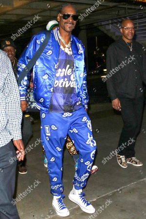 Editorial picture of Snoop Dogg out and about, Los Angeles, USA - 22 Oct 2019