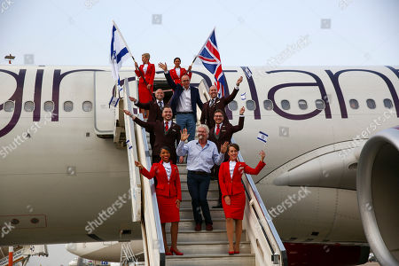 Editorial photo of Richard Branson, Tel Aviv, Israel - 23 Oct 2019