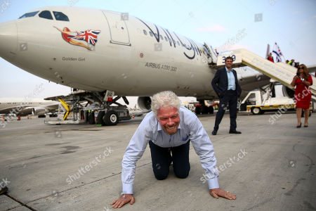 Editorial picture of Richard Branson, Tel Aviv, Israel - 23 Oct 2019