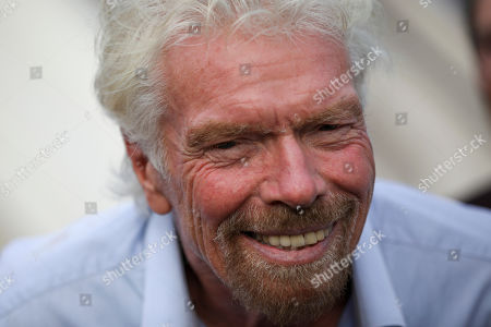 Editorial image of Richard Branson, Tel Aviv, Israel - 23 Oct 2019