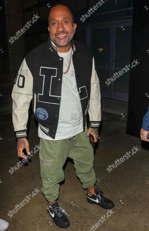 Editorial image of Kenya Barris out and about, Los Angeles, USA - 22 Oct 2019