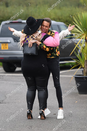 Gemma Collins, Bobby Cole Norris and Chloe Sims