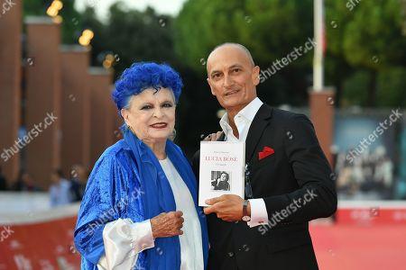 Editorial photo of 'Lucia Bose' film premiere, Rome Film Festival, Italy - 23 Oct 2019