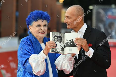 Stock Photo of Lucia Bose and Roberto Liberatori