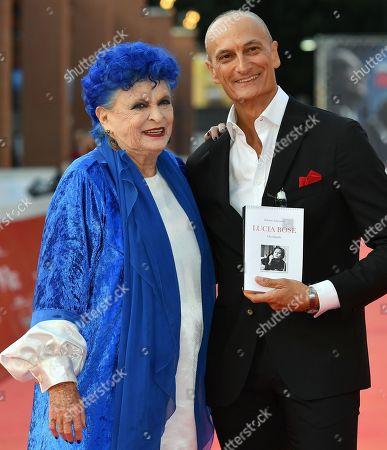 Stock Picture of Lucia Bose and Roberto Liberatori