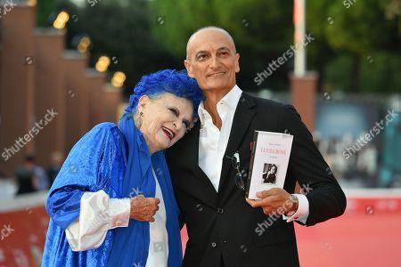 Stock Image of Lucia Bose and Roberto Liberatori