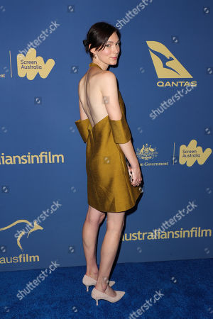 Editorial image of 8th Annual Australians in Film Awards Gala, Arrivals, InterContinental Downtown, Los Angeles, USA - 23 Oct 2019