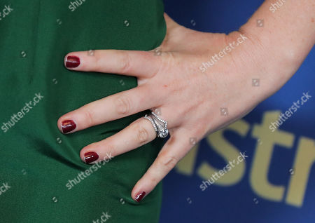 Stock Picture of Isla Fisher, jewelry detail