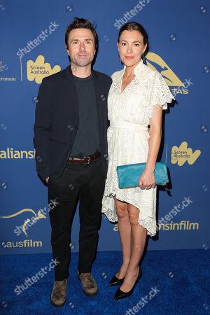 David Michod and Mirrah Foulkes