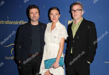 Stock Image of David Michod, Mirrah Foulkes and Luke Davies