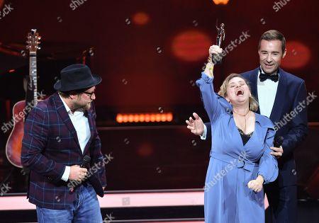 Editorial image of Goldene Bild der Frau awards in Hamburg, Germany - 23 Oct 2019