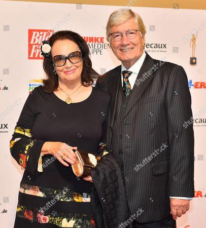 Editorial picture of Goldene Bild der Frau awards in Hamburg, Germany - 23 Oct 2019