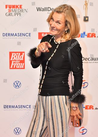 Stock Photo of Andrea L'Arronge attends the 'Goldene Bild der Frau' awards ceremony in Hamburg, Germany, 23 October 2019. The prizes are awarded to women in voluntary positions.