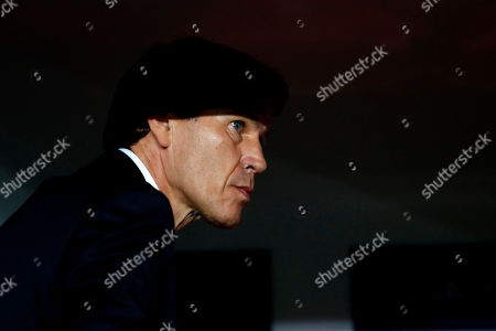 Stock Picture of Lyon's head coach Rudi Garcia is seen before the Champions League group G soccer match between Benfica and Olympique Lyonnais at the Luz stadium in Lisbon