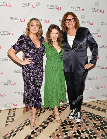 Christine Taylor, Ella Stiller, and Judy Gold