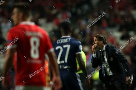 Editorial image of Benfica vs Lyon, Lisbon, Portugal - 23 Oct 2019