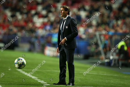Lyon´s head coach Rudi Garcia during their UEFA Champions League group G soccer match held at Luz Stadium, in Lisbon, Portugal, 23 October 2019.