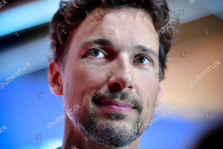 Florian David Fitz poses on the red carpet prior to the premiere of 'Das perfekte Geheimnis' (lit.: The perfect secret) in Cologne, Germany, 23 October 2019. The movie will be shown in German cinemas from 31 October 2019 on.