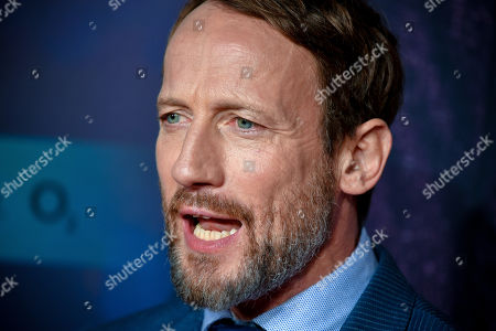 Stock Picture of Wotan Wilke Moehring poses on the red carpet prior to the premiere of 'Das perfekte Geheimnis' (lit.: The perfect secret) in Cologne, Germany, 23 October 2019. The movie will be shown in German cinemas from 31 October 2019 on.