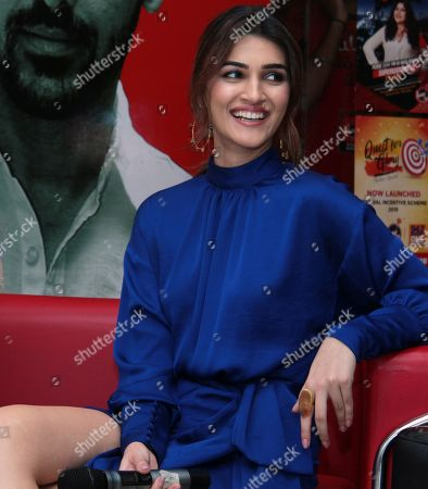 Editorial picture of 'Housefull 4' film promotion interview, New Delhi, India - 17 Oct 2019
