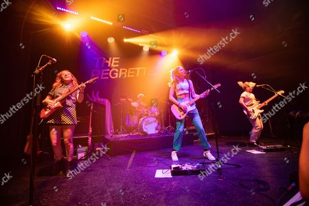 Editorial image of The Regrettes in concert at August Hall, San Francisco, USA - 18 Oct 2019