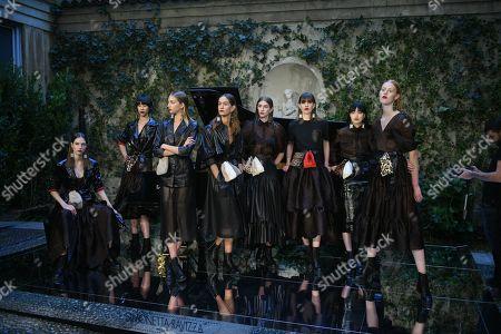 Editorial photo of Simonetta Ravizza presentation, Spring Summer 2020, Milan Fashion Week, Italy - 20 Sep 2019