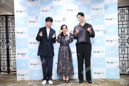 Ong Seong-wu, Kim Hyang Gi and Seung-ho Shin