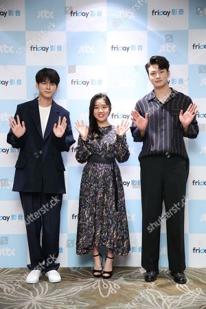 Editorial picture of 'At Eighteen' TV show press conference, Taipei, Taiwan, China - 22 Sep 2019