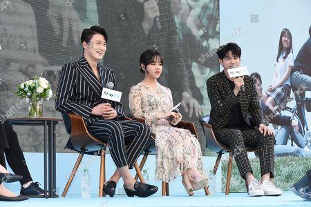 Seung-ho Shin, Kim Hyang Gi and Ong Seong-wu