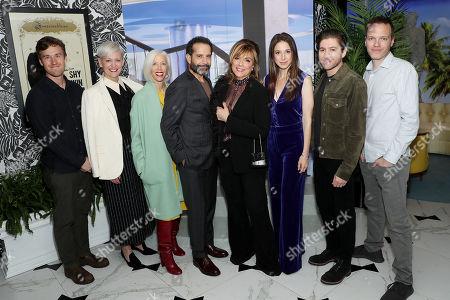 Stock Photo of Henry Luehrman, Darcy Penick, Linda Fargo, Tony Shalhoub, Caroline Aaron, Marin Hinkle, Michael Zegen, Marc Resteghini