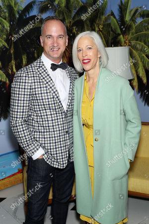 Linda Fargo (SVP Bergdorf Goodman) with Guest