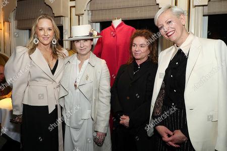 Jennifer Salke (Head of Amazon Studios), Amy Sherman-Palladino (Director), Donna Zakowska (Costume Designer), Darcy Penick (CEO Bergdorf Goodman)