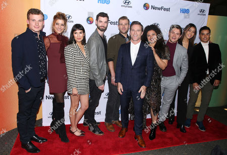 Editorial picture of 'Sell By' film screening, Arrivals, New York LGBTQ Film Festival, USA - 23 Oct 2019