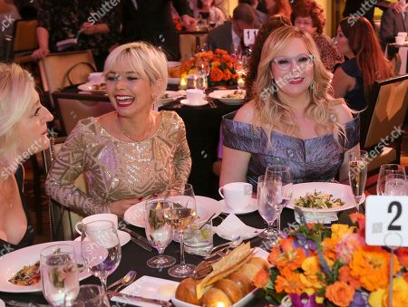Kirsten Vangsness, Briana Cisneros. Kirsten Vangsness, right, and Briana Cisneros attend the 71st Engineering Emmy Awards, presented by the Television Academy at the JW Marriott Los Angeles L.A. LIVE hotel on in Los Angeles