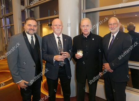 Julio Macat, Lowell Peterson, Don McCuaig, Stephen Lighthill. Julio Macat, and from left, Lowell Peterson, Don McCuaig, and Stephen Lighthill attend the 71st Engineering Emmy Awards, presented by the Television Academy at the JW Marriott Los Angeles L.A. LIVE hotel on in Los Angeles