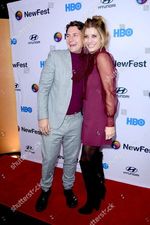 Augustus Prew and Kate Walsh