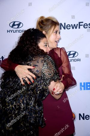 Michelle Buteau and Kate Walsh