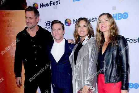 Peter Hermann, Mike Doyle, Mariska Hargitay and Jill Hennessy