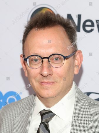 """Michael Emerson attends the NewFest LGBTQ film festival opening night gala screening of """"Sell By"""" at the SVA Theatre, in New York"""
