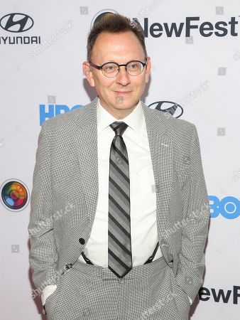"""Stock Photo of Michael Emerson attends the NewFest LGBTQ film festival opening night gala screening of """"Sell By"""" at the SVA Theatre, in New York"""
