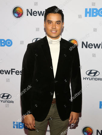 """Brian Marc attends the NewFest LGBTQ film festival opening night gala screening of """"Sell By"""" at the SVA Theatre, in New York"""