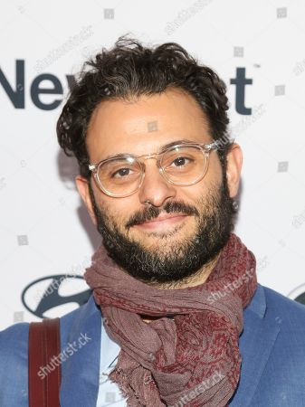 """Arian Moayed attends the NewFest LGBTQ film festival opening night gala screening of """"Sell By"""" at the SVA Theatre, in New York"""