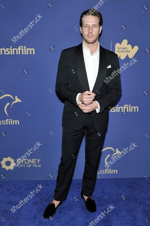 Stock Picture of Luke Bracey attends the 8th Annual Australians in Film Awards at the InterContinental Hotel, in Los Angeles