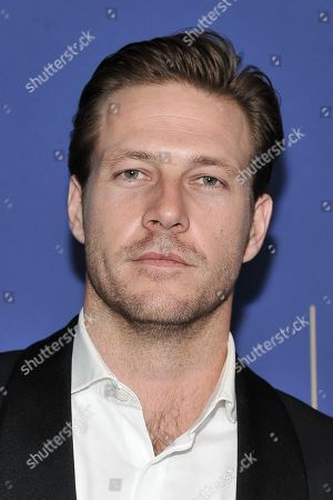 Stock Image of Luke Bracey attends the 8th Annual Australians in Film Awards at the InterContinental Hotel, in Los Angeles