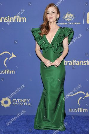 Isla Fisher attends the 8th Annual Australians in Film Awards at the InterContinental Hotel, in Los Angeles